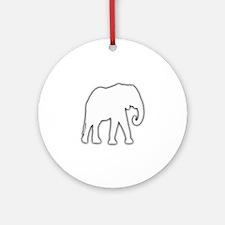 White Elephant Gift Christmas Gag Joke Ornament (R