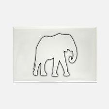 White Elephant Gift Christmas Gag Joke Rectangle M