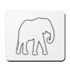 White Elephant Gift Christmas Gag Joke Mousepad