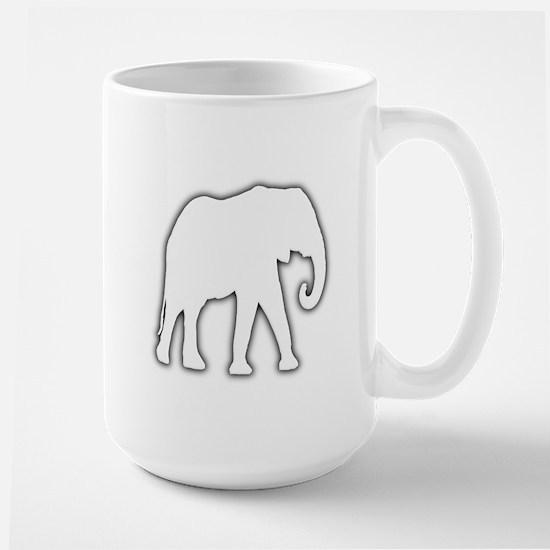 White Elephant Gift Christmas Gag Joke Large Mug