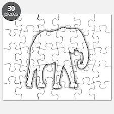 White Elephant Gift Christmas Gag Joke Puzzle