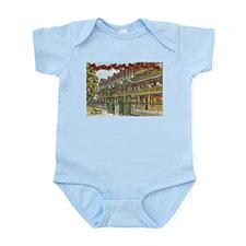New Orleans Christmas Infant Bodysuit