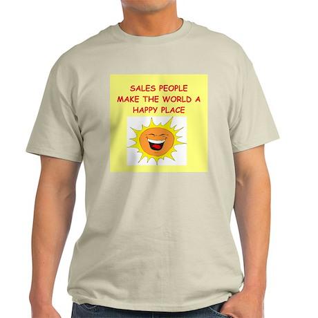 sales person Light T-Shirt