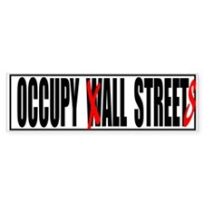 Occupy All Streets Graffiti Bumper Sticker