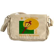 New Orleans Christmas Messenger Bag