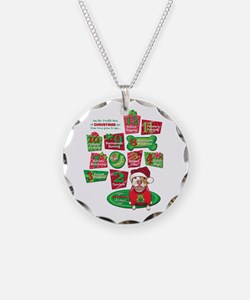 12 Dogs of Christmas Necklace