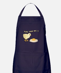 Are you O.K ? Apron (dark)