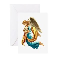 Angel with Child Greeting Card