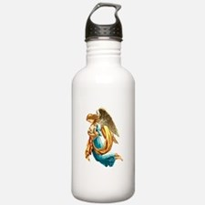 Angel with Child Water Bottle