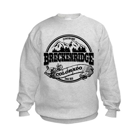 Breckenridge Old Circle 3 Kids Sweatshirt