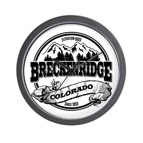 Breckenridge Old Circle 3 Wall Clock