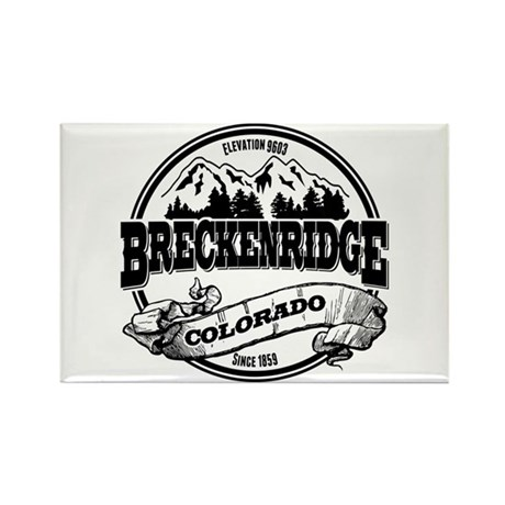 Breckenridge Old Circle 3 Rectangle Magnet