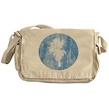 Vintage Palm Tree Messenger Bag
