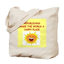 republican gifts t-shirts Tote Bag