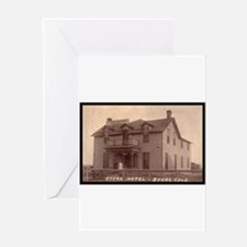 Byers Hotel Greeting Card