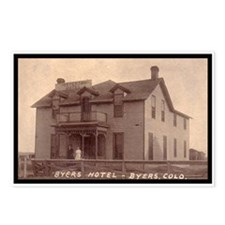 Byers Hotel Postcards (Package of 8)