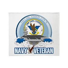 CVN-70 USS Carl Vinson Throw Blanket