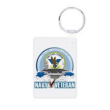 CVN-70 USS Carl Vinson Aluminum Photo Keychain