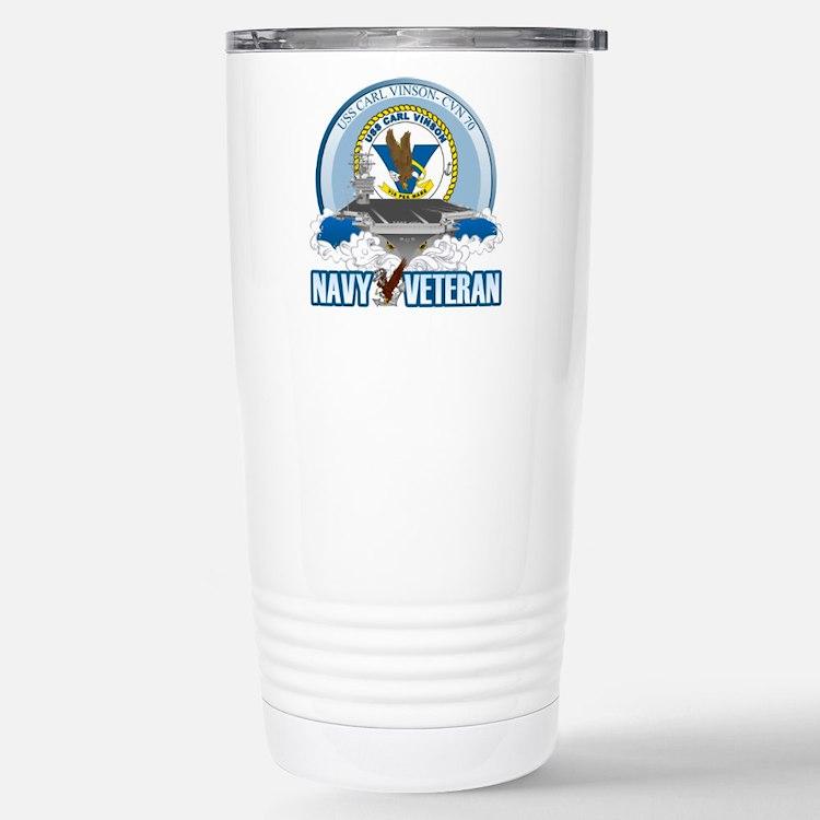 CVN-70 USS Carl Vinson Travel Mug