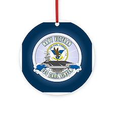 CVN-70 USS Carl Vinson Ornament (Round)