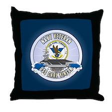 CVN-70 USS Carl Vinson Throw Pillow