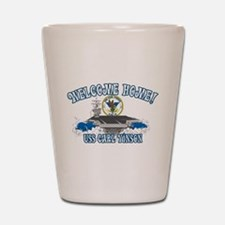 Welcome Carl Vinson! Shot Glass