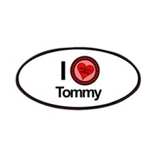 I Love Tommy Brothers & Sisters Patches