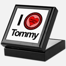 I Love Tommy Brothers & Sisters Keepsake Box