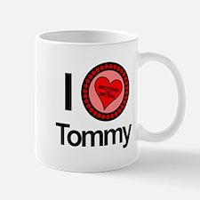 I Love Tommy Brothers & Sisters Mug