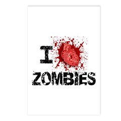 I Heart Zombies Postcards (Package of 8)