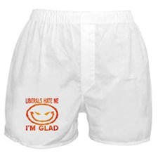 Liberals Hate Me Boxer Shorts
