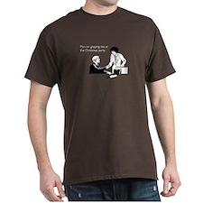 Christmas Party Groping Dark T-Shirt