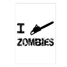 I Chainsaw Zombies Postcards (Package of 8)