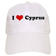 I Love Cyprus Baseball Cap