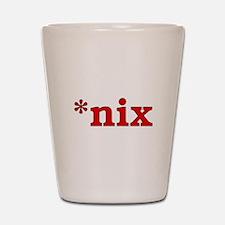 *nix Shot Glass