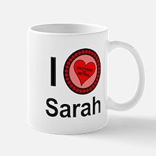 I Love Sarah Brothers & Sisters Mug