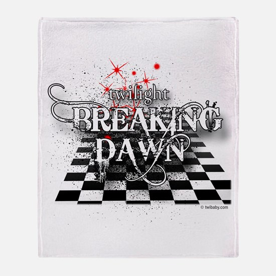 Breaking Dawn Strategy by Twibaby Throw Blanket