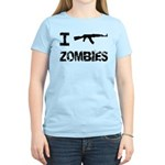 I Shoot Zombies Women's Light T-Shirt