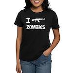 I Shoot Zombies Women's Dark T-Shirt