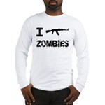 I Shoot Zombies Long Sleeve T-Shirt