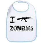 I Shoot Zombies Bib