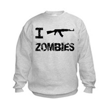 I Shoot Zombies Sweatshirt