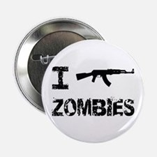 "I Shoot Zombies 2.25"" Button"