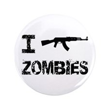 "I Shoot Zombies 3.5"" Button (100 pack)"