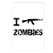 I Shoot Zombies Postcards (Package of 8)