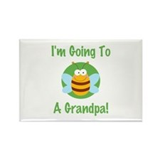 Bee A Grandpa Rectangle Magnet