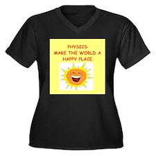 physics gifts t-shirts Women's Plus Size V-Neck Da