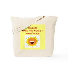 physics gifts t-shirts Tote Bag
