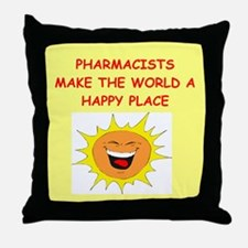 pharmacists Throw Pillow
