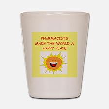 pharmacists Shot Glass